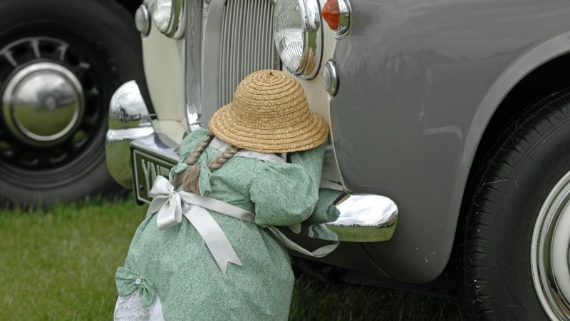 Shy Little Girl (Doll) on Rover, Epworth Show