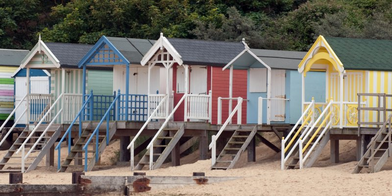 Beach Huts, Holkham Bay, Norfolk