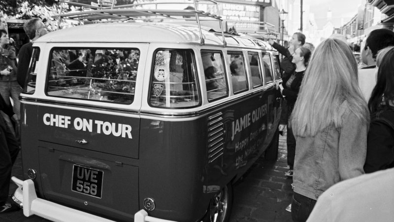 Jamie Oliver, Chef on Tour