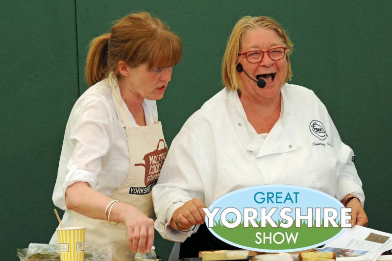 Celebrity Chef, Rosemary Shrager, Great Yorkshire Show