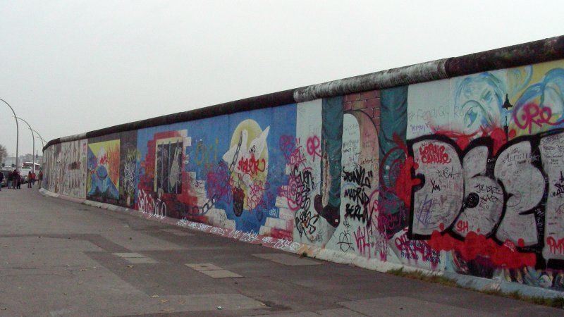 Berlin Wall (present day)