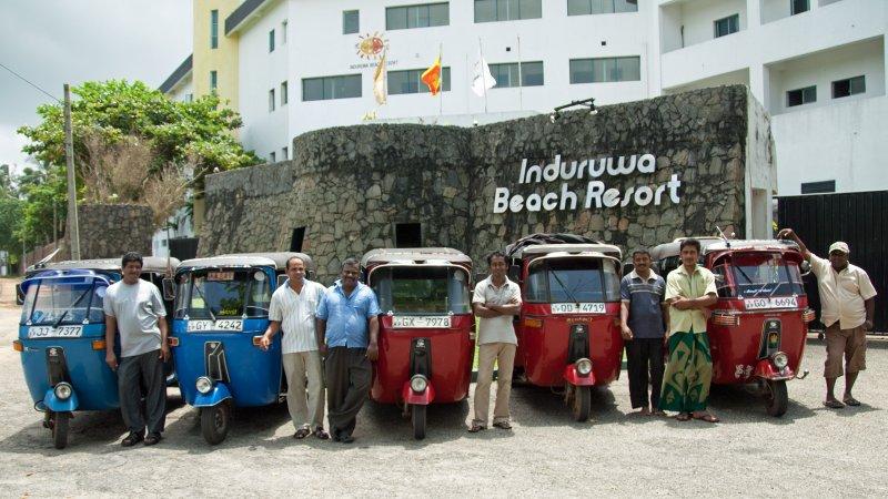 Tuk Tuk Drivers, Sri Lanka